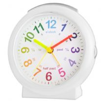 Acctim Lulu Time Teach Clock - White
